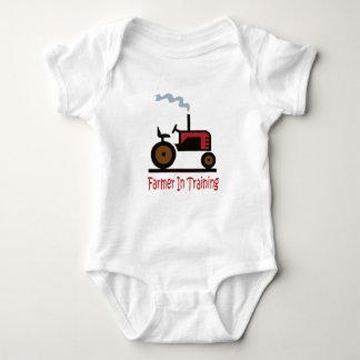 Farmer In Training Baby Bodysuit