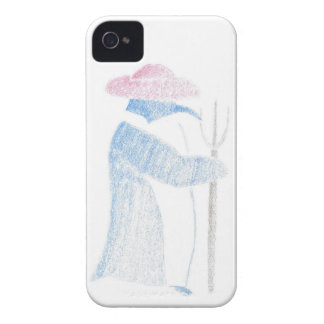 Farmer Penguin iPhone 4 Case-Mate Cases