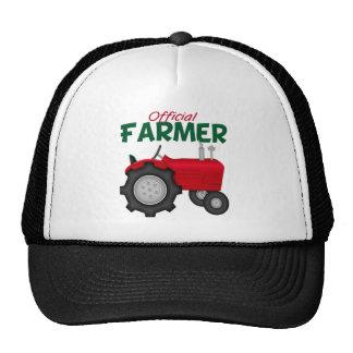 Farmer  Red Tractor Trucker Hat