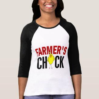 Farmer's Chick Tshirts