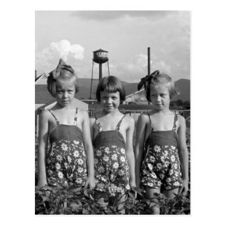 Farmer s Daughters 1939 Post Card