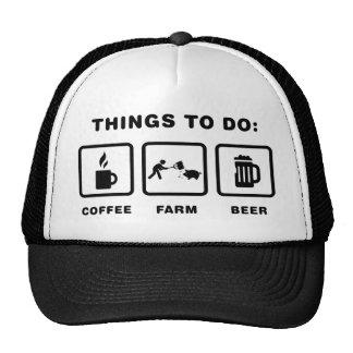 Farmer Trucker Hat