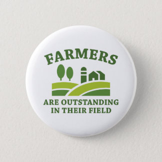 Farmers 2 Inch Round Button