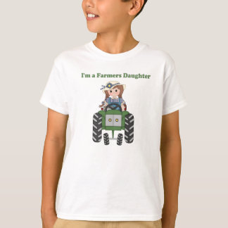 Farmers Daughter Tractor T-Shirt