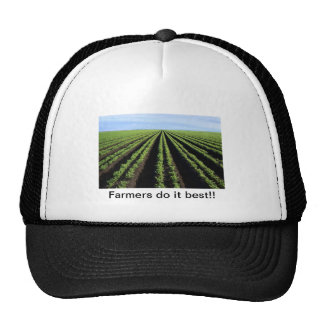 Farmers do it best, trucker hat