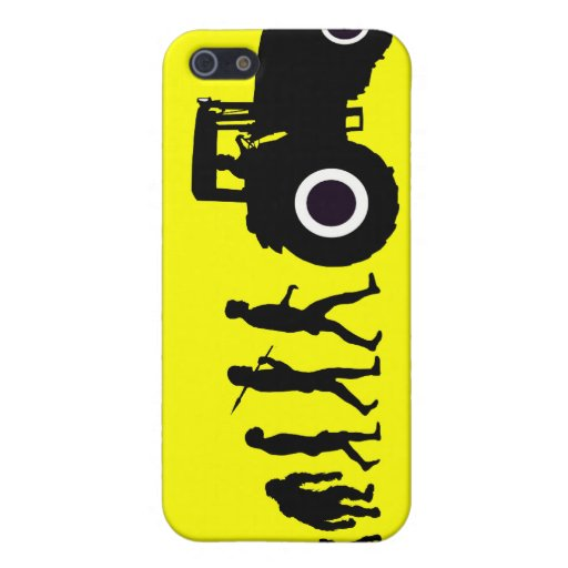Farmers Evolution of Farming Farm Tractor Drivers Covers For iPhone 5
