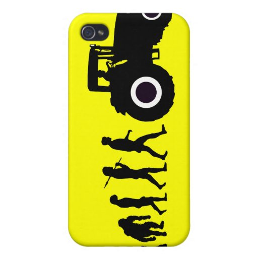 Farmers Evolution of Farming Farm Tractor Drivers iPhone 4/4S Case