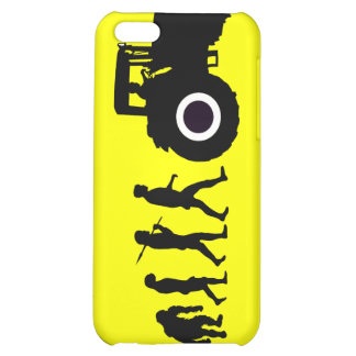 Farmers Evolution of Farming Farm Tractor Drivers Case For iPhone 5C
