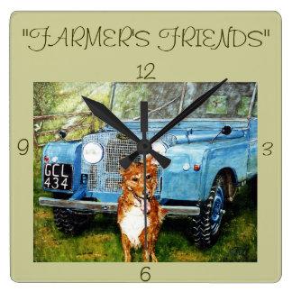 """""""Farmer's  Friends"""" Wall Clock"""