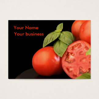 Farmer's Market Business Card