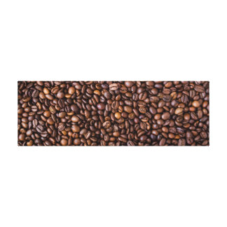 Farmer's Market: Coffee Beans. Canvas Print