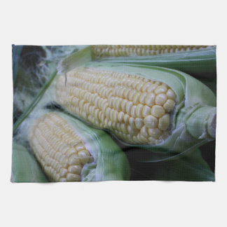 Farmers Market Corn Hand Towel