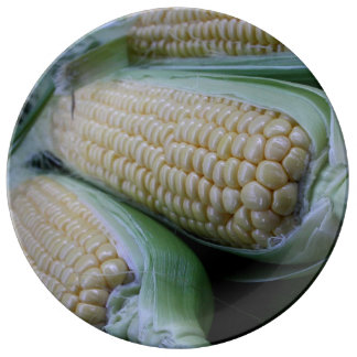 Farmers Market Corn Plate