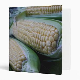 Farmers Market Corn Vinyl Binders