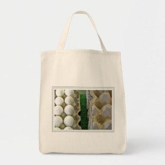 farmers' market eggs tote bag