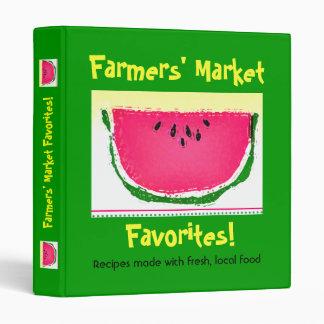 Farmers' MArket Favorites 3 Ring Binder