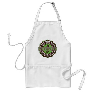 Farmers Market Just For the Health of It Standard Apron