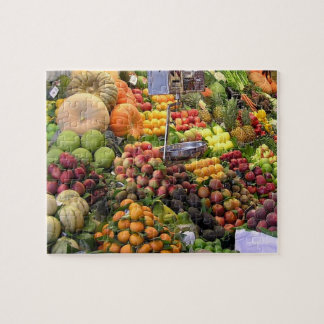 Farmers Market Photo Puzzle, 110 Pieces Jigsaw Puzzle
