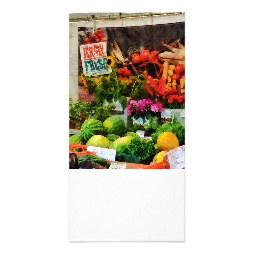Farmer's Market Photo Greeting Card