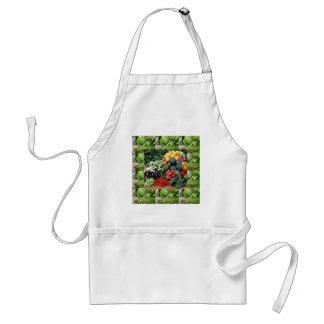 Farmers market veggie delight chefs cuisine ideas standard apron