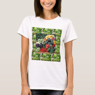 Farmers market veggie delight chefs cuisine ideas T-Shirt
