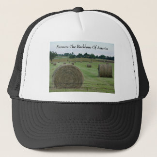 Farmers:The Backbone Of America Trucker Hat