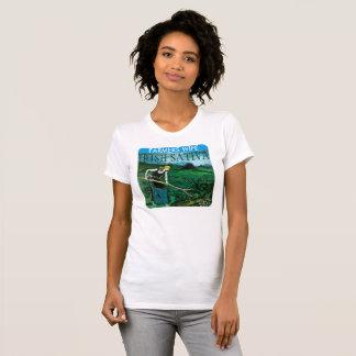 FARMERS WIFE IRISH SATIVA T-Shirt