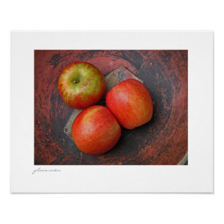 farmhouse apples III Poster