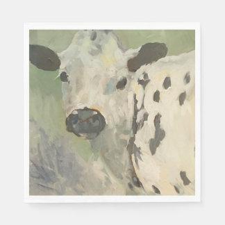 Farmhouse Baby Cow Napkins Paper Napkin