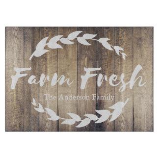 Farmhouse Barn Wood White Laurels Family Name Boards