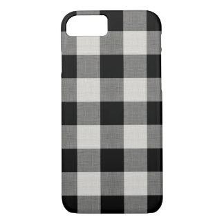 Farmhouse Black Buffalo Check Case-Mate iPhone Case
