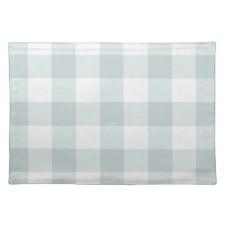Farmhouse Blue Buffalo Check Placemat