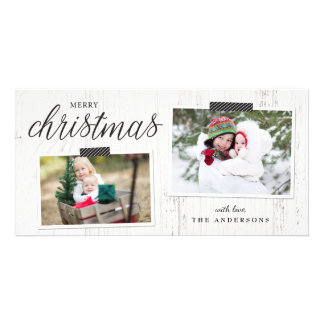 Farmhouse Chic Photo Card