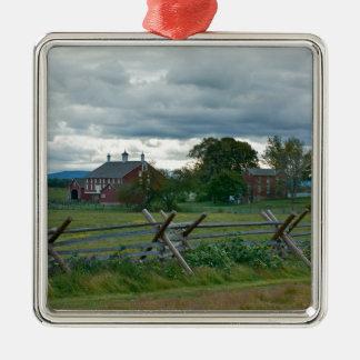 Farmhouse - Gettysburg National Park Pennsylvania Metal Ornament