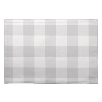 Farmhouse Gray Buffalo Check Placemat