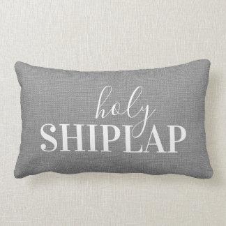 Farmhouse Holy Shiplap Throw Pillow