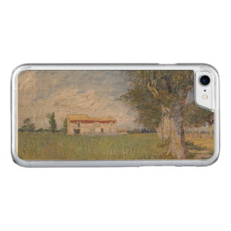 Farmhouse in a Wheatfield Vincent Van Gogh Carved iPhone 7 Case