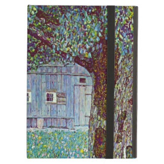 Farmhouse in Austria by Klimt, Victorian Fine Art Case For iPad Air