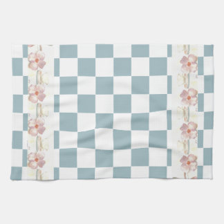 Farmhouse Kitchen Country Checkerboard Shabby Chic Kitchen Towels