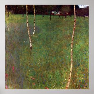 Farmhouse lg by Gustav Klimt Poster