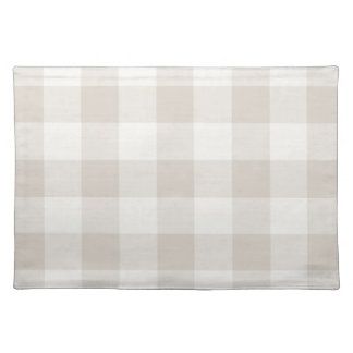 Farmhouse Linen Buffalo Check Placemat