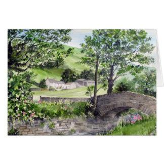 Farmhouse near Thirlmere, Lake District, England Card