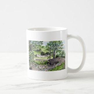 Farmhouse near Thirlmere, Lake District, England Coffee Mug