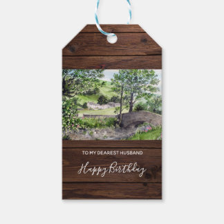 Farmhouse near Thirlmere, Lake District, England Gift Tags