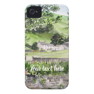 Farmhouse near Thirlmere, Lake District, England iPhone 4 Covers