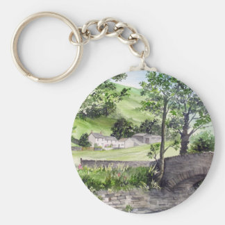 Farmhouse near Thirlmere, Lake District, England Keychain