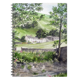Farmhouse near Thirlmere, Lake District, England Notebook