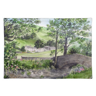 Farmhouse near Thirlmere, Lake District, England Placemat
