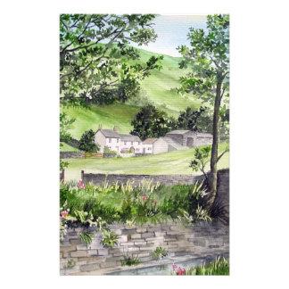 Farmhouse near Thirlmere, Lake District, England Stationery