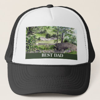 Farmhouse near Thirlmere, Lake District, England Trucker Hat